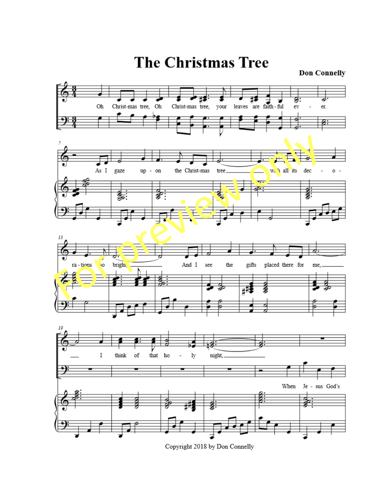 The Christmas Tree – Triumphant Praise Music